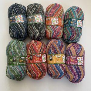 Opal Sock Yarn – Butterfly