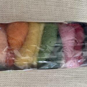 Gluckskafer Marchenwolle Plant-Dyed Roving 50 gram