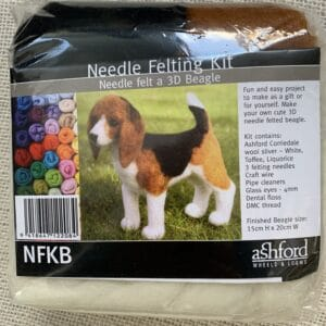 Ashford Needle Felting Kit – Beagle