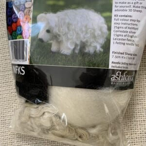Ashford Needle Felting Kit – Sheep