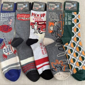 BlueQ Men's Crew Socks