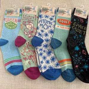 BlueQ Women's Crew Socks