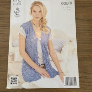 King Cole Opium Pattern Leaflet – 3687