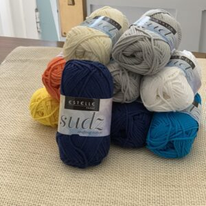 Estelle Yarns Sudz crafting cotton