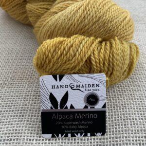 Handmaiden Alpaca Merino – solid colours